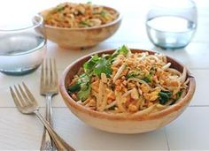 Super Easy Pad Thai 7 ounces pad Thai noodles 1 tablespoon extra ...