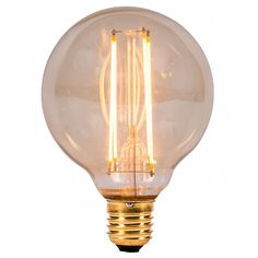 Save energy in style with Bell Lighting's Vintage LED Filament Bulbs, new to UK Electrical Supplies. (01464)