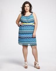 striped chiffon dress with belt Elle Fashion, Fashion Trends, Belt Shop, Addition Elle, Summer Essentials, Chiffon Dress, Frocks, Plus Size Outfits, Summer Styles