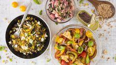 Saláty, po kterých nebudete mít hlad: Zkuste 3 skvělé variace - Proženy Fried Rice, Fries, Tacos, Cheesecake, Mexican, Ethnic Recipes, Food, Bulgur, Cheesecakes