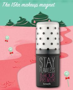 stay flawless primer on Dec Benefit Makeup, Christmas Treats, Merry Christmas, Cc Cream, Crossed Fingers, Gorgeous Eyes, December 2014, My Coffee, Makeup Yourself