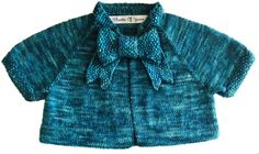 'Button Bow Baby' knitting pattern by Theatre Of Yarns