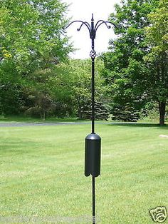Erva Decorative 4 Arm Squirrel Proof Bird Feeder Pole