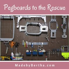 Pegboards to the res