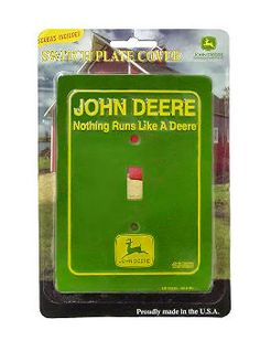 John Deere Green Light Switch Cover JD-LS10124
