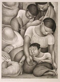 "Diego Rivera (Mexican, 1886-1957), ""Sleep,"" 1932; Indianapolis Museum of Art, Jacob Metzger Fund, 35.20; © Estate of Diego Rivera / Artists Rights Society (ARS), New York"
