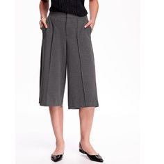 High-Rise Pleated Culottes High-Rise Pleated Culottes Pants