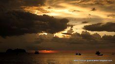 Playa Hermosa sunset.