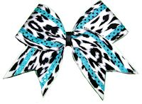 cheetah bow #cheerleading <3