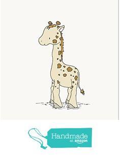 Giraffe Little Giraffe - Nursery Art Print from Sweet Melody Designs https://www.amazon.com/dp/B01F4D4TZE/ref=hnd_sw_r_pi_dp_HDYczbCR1NQ92 #handmadeatamazon