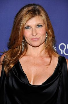 Connie Britton. So natural, so gorgeous. I would possibly kill for her hair. And Tami Taylor kicks ass.