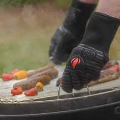 Grill Heat Aid Extreme Heat Resistant Grill/BBQ Gloves For Men & Women Heat Resistant Gloves, Extreme Heat, The Other Guys, Significant Other, Barbecue, Grilling, Flipping, Super Easy, Cooking