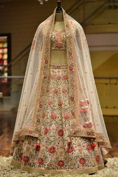 Buy Powder Pink Raw Silk Resham Embroidered Bridal Lehenga Online There are different rumors about the annals of the marriage … Bridal Lehenga Online, Designer Bridal Lehenga, Indian Bridal Lehenga, Wedding Lehnga, Bridal Sarees, Wedding Wear, Wedding Dresses, Wedding Bells, Bridal Gowns
