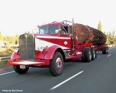 1952 Kenworth hauling a log,To All you Bloggers on here are you Making Money…
