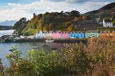Portree. LOOK AT THAT. I want to live there.