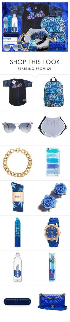 """""""My Favorite Color"""" by xqueen-of-anglesx ❤ liked on Polyvore featuring Vera Bradley, Oliver Peoples, GET LOST, Kate Spade, Retrò, DK, Oscar de la Renta, Tarina Tarantino, Bumble and bumble and Chanel"""
