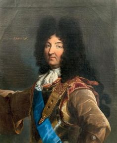 LOUIS XIV (1638 - 1715), Roi de France et de Navarre / By Hyacinthe Rigaud.