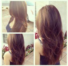 Cute Long Layered Haircuts | Cute Layered Long Hairstyle for Girls /tumblr