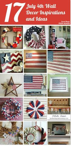 7 independence day wreaths crafts front door #crafts #diy, Hause ideen