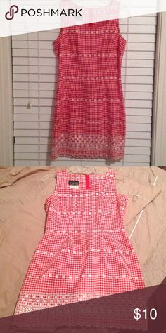 Cute Southern Charm Sun Dress Red and White Hanker-Chief Style Sun Dress with lace bottom, Zipper in back My Michelle Dresses High Low Dress Red, Lace Dress, Southern Charm, Red And White, High Low, Two Piece Skirt Set, Charmed, Zipper, Sun