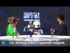 """Agência chinesa envia """"robô repórter"""" para coletiva de imprensa - TecMundo"""