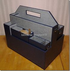 Organization, Organizing, Decoupage, Decorative Boxes, Projects To Try, Paper, Scrapbooking, Home Decor, Image