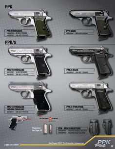 Military Weapons, Weapons Guns, Guns And Ammo, Pocket Pistol, Revolver, James Bond, Firearms, Hand Guns, Latest Technology Gadgets