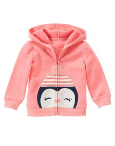 Penguin Face Hoodie at Gymboree (Gymboree 3m-5T)