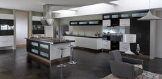 Hi-Tech Kitchen Cabinet Designs ~ http://qo-home.com/lovely-2016-kitchen-cabinet-ideas/