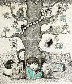 1001 historias que contar tras un buen libro.