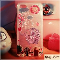 iPhone 5, 5s Olifant case, cover, hoesje