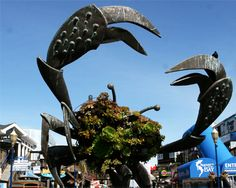 Crab sculpture, Pier 39 - Fisherman's Wharf Things to See