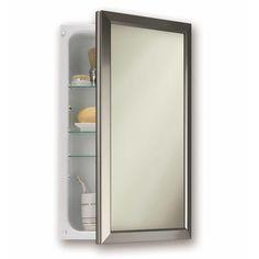 Jensen 15 75 X 25 5 Recessed Medicine Cabinet