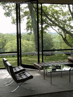 Philip Johnson's Glass House | New Canaan, CT