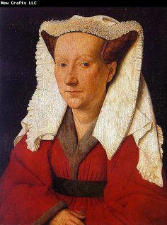 Jan Van Eyck ~~ Portrait of Margarete van Eyck