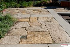 Granite natural stone pavers types and installations steps should helps you in the installing. Natural Stone Pavers, Paving Stones, Natural Stones, Granite Paving, Granite Stone, Outdoor Stone, Recycled Garden, Water Walls, Landscape Walls
