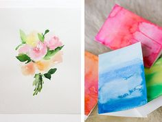 watercolouring tutorials for beginners