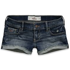 Hollister Co Monarch Beach Shorts ($20) ❤ liked on Polyvore