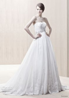 Enzoani  Gown available at Gabrielle's Bridal Atelier
