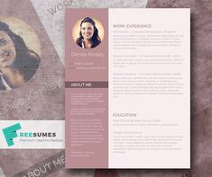 Fancy Resume Template For Free  Rubicund Headliner  Resumes