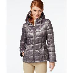 How cute is she! Great coat too! | Cute Girl in Calvin Klein Down ...