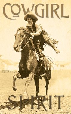 "Cowboys & Images - 229 - Cowgirl Spirit: Rose Walker - [11"" x 17"" Lithograph]"