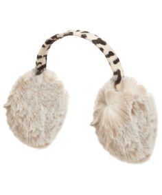 Perfect ear muffs for your sexy snow bunny costume!