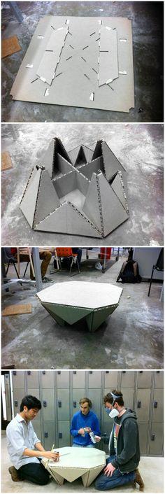 硬纸板折叠桌