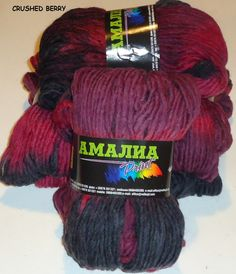 400g AMALIA PRINT,a wonderful 100% lambs wool for knitting or felting in glorious hand dyed colours by greatknits on Etsy