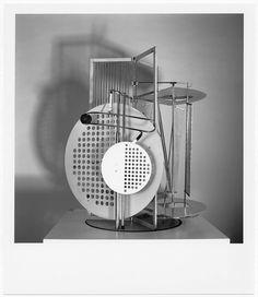 "László Moholy-Nagy, ""Light prop for an electric stage"", 1930 (Replica, 1970) / Bauhaus-Archiv Berlin, photo: Hartwig Klappert, © VG Bild-Kunst Bonn © VG Bild-Kunst (Royalties Collection Society), Bonn"
