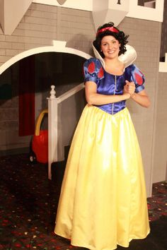 Snow White offers a terrific Princess Partiy Experience