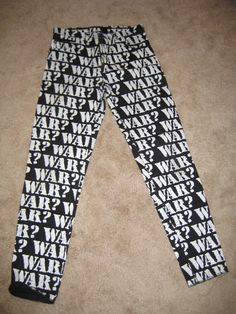 LIP SERVICE war? pants 80's