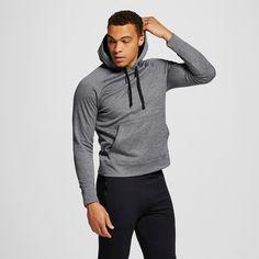 Men's Tech Fleece Pullover Hoodie Dark Gray 2XL - C9 Champion, Size: Xxl, Charcoal Heather
