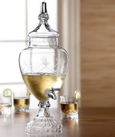 Take a look at this Winston Glass 128-Oz. Beverage Dispenser on zulily today!